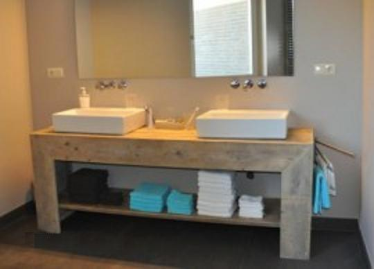 Badkamermeubel Van Steigerhout : Badkamermeubel van steigerhout beste steigerhout badkamermeubel