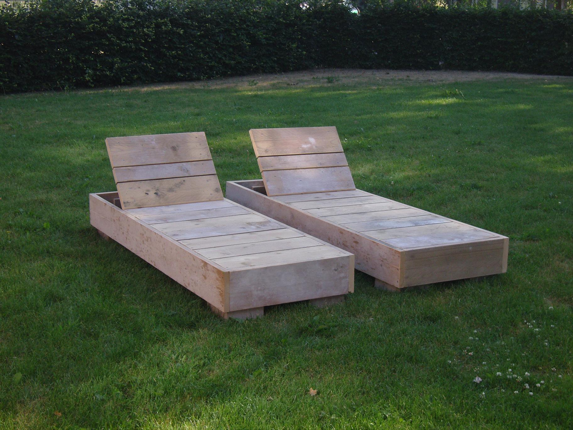 Steigerhouten meubelen outdoor de steigerhoutfabriek for Ligzetel tuin